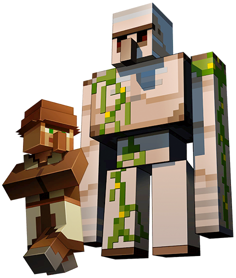 Villager & Iron Golem