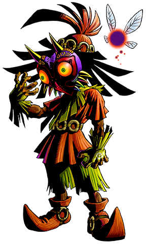 Skull Kid & Majora's Mask