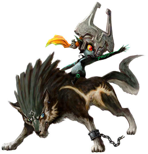 Wolf Link & Midna