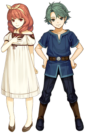 Alm & Celica (Young)